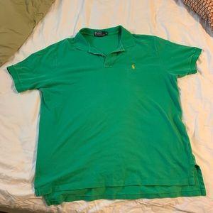 Polo Ralph Lauren - XL green polo shirt